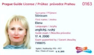 licensed tour guide in prague